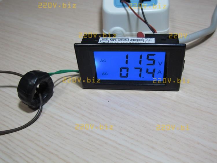 Электронный вольтметр своими рукам